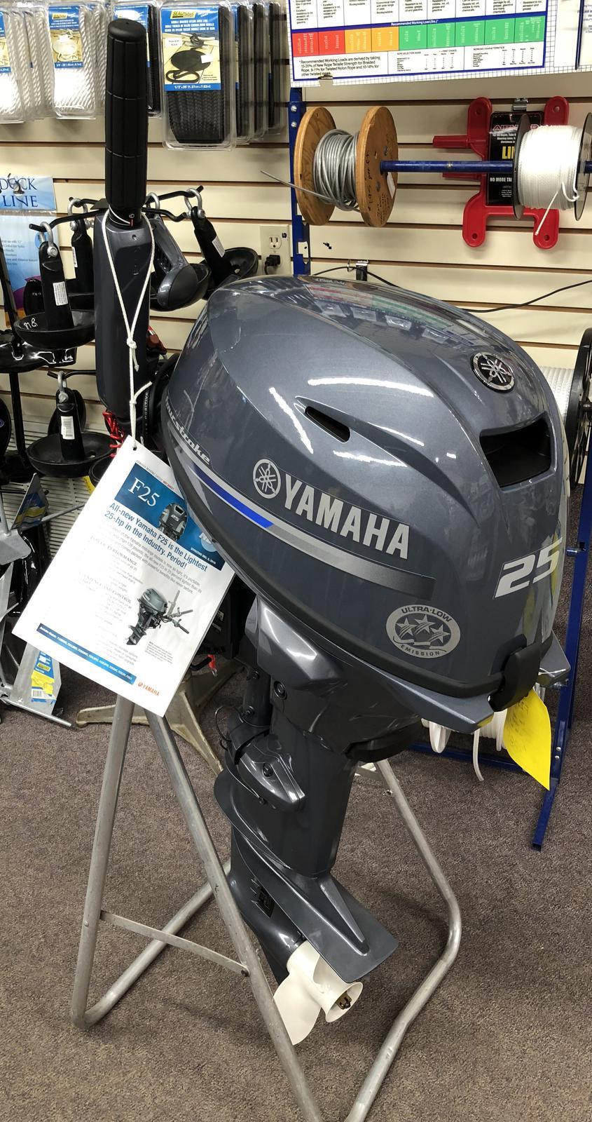 2019 Yamaha F25 LWHC