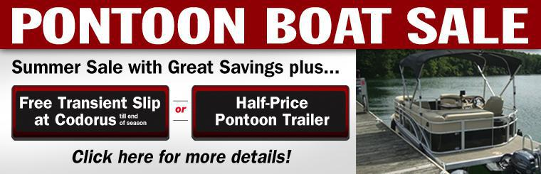 2014 Summer Pontoon Sale