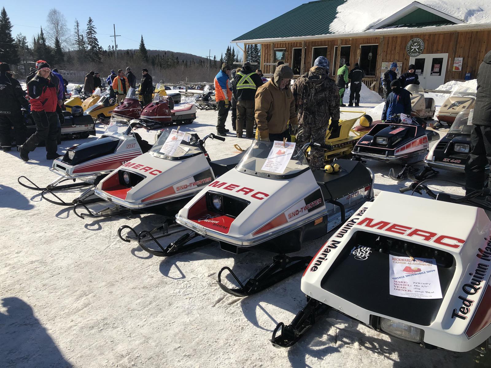 9th Annual Antique Snowmobile show 2019 Rickward's Small