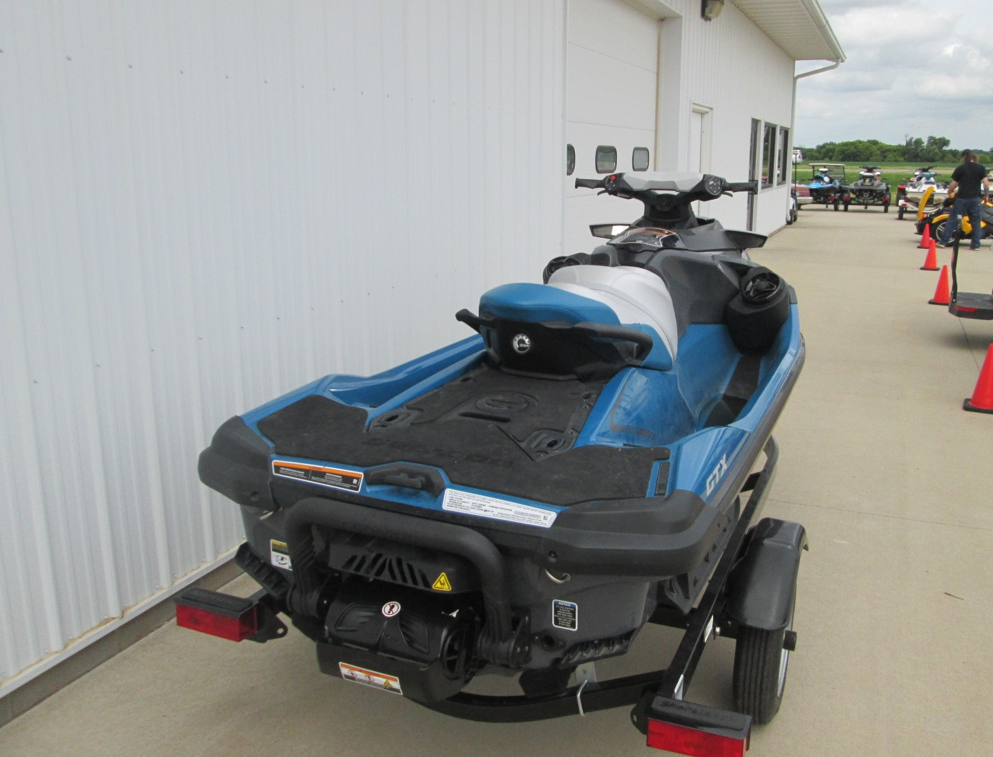 2018 Sea-Doo GTX 155 w / Sound System for sale in LeMars, IA