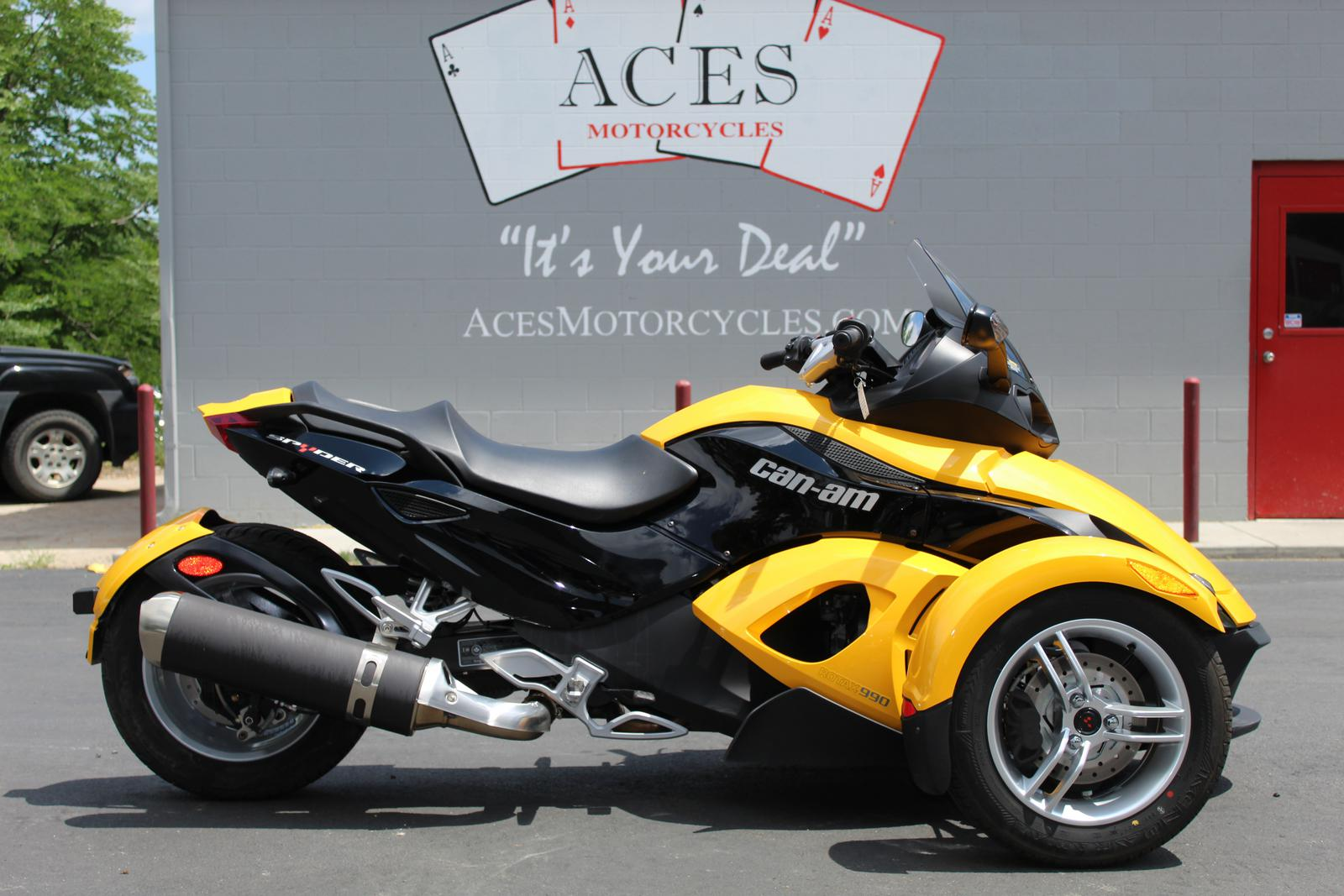 Can Am Roadster >> 2008 Can Am Spyder Gs Roadster Sm5
