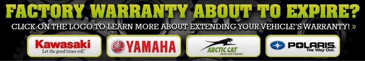 Factory warranty about to expire? Click on the logo to learn more about extending your vehicle's warranty!