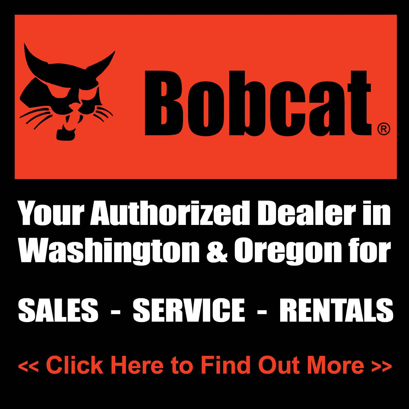 Authorized Bobcat Dealers in WA & OR