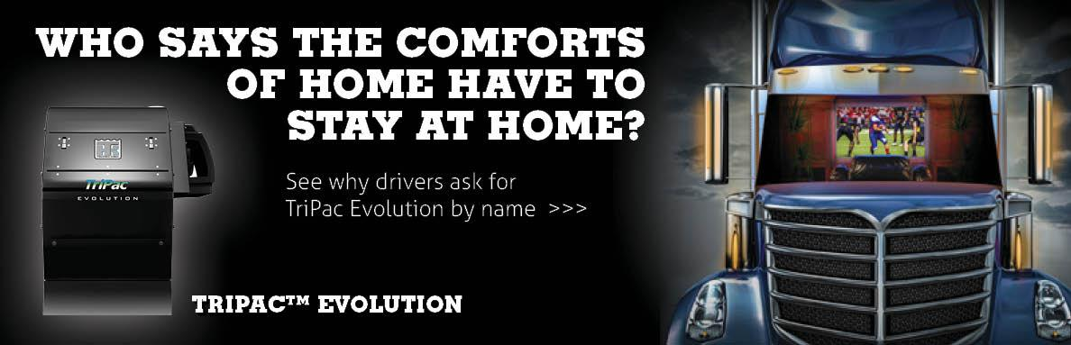 See why drivers ask for TriPac™ Evolution by name