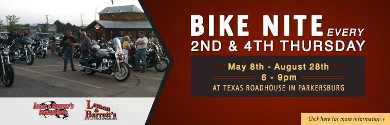 Bike Nite Every 2nd & 4th Thursday!