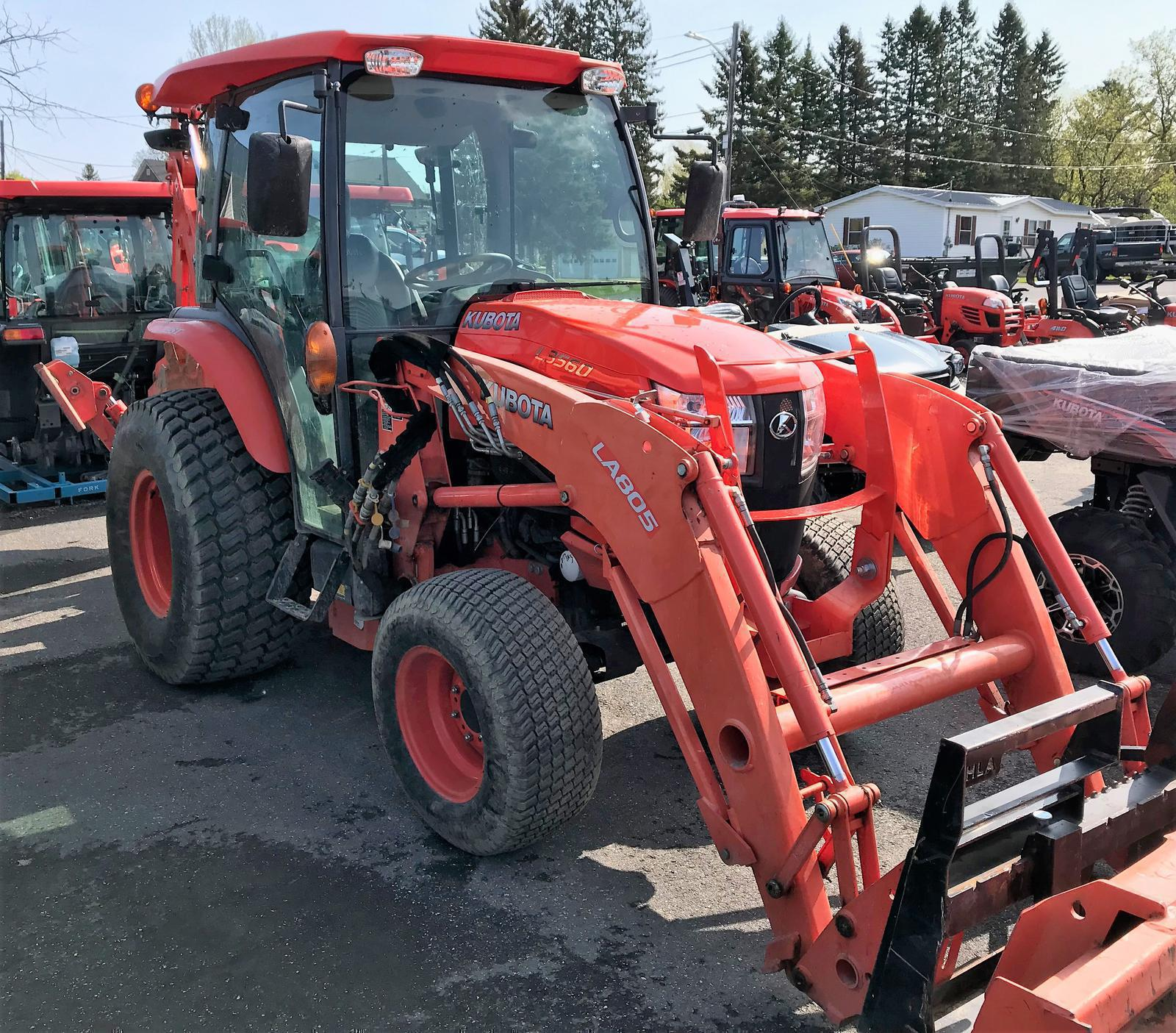 2015 Kubota L3560 HSTC (4WD, CAB) for sale in Presque Isle, ME