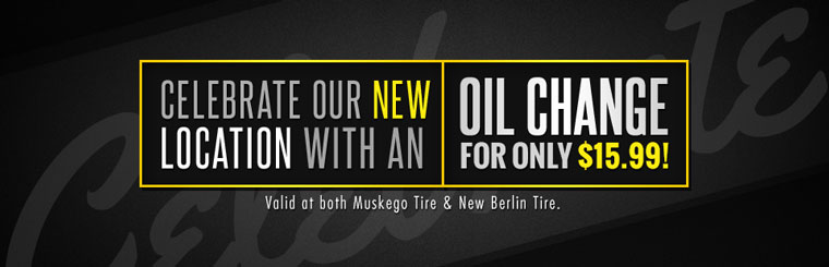 Celebrate our new location with an oil change for only $15.99! Click here for your coupon.