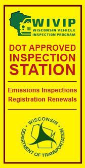 Wisconsin Vehicle Inspection Program.  Dot Approved Inspection Section.