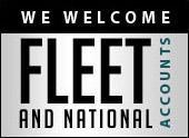 We welcome fleet and national accounts.
