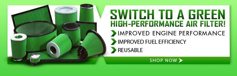 Shop now for a green, high-performance air filter.