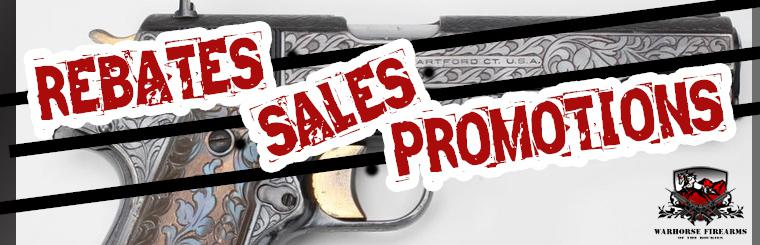 Warhorse Firearms Sales, Rebates & Promotions