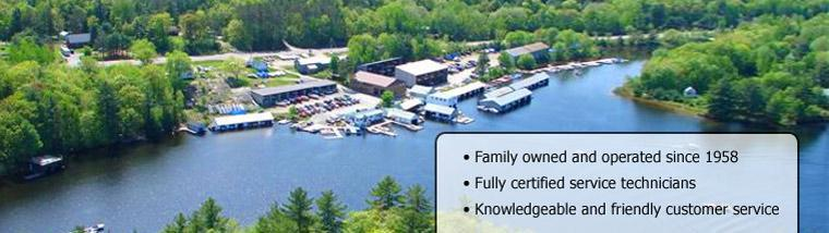 Campbell's Landing has been been family owned and operated since 1958. We have fully certified service technicians and knowledgeable and friendly customer service.