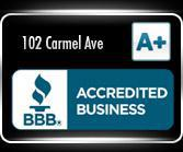 BBB Accredited Business: 102 Carmel Ave.