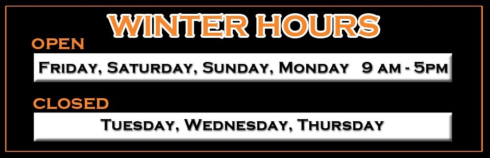 2016 Winter Hours