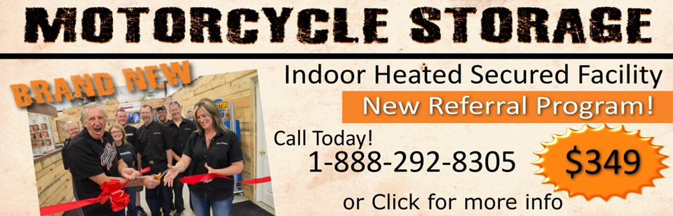 Call 1-888-292-8305 or Click here to book your Motorcycle Storage at Classy Chassis & Cycles