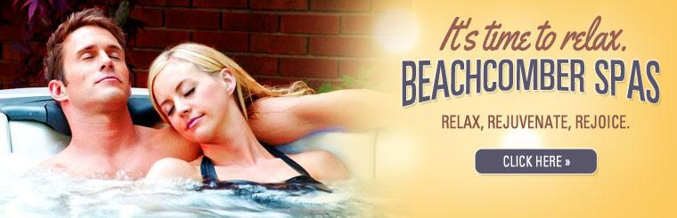 Relax, rejuvenate, and rejoice in a Beachcomber spa.