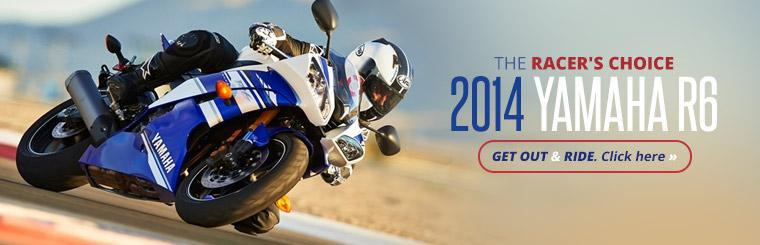 Click here to view the 2014 Yamaha R6.