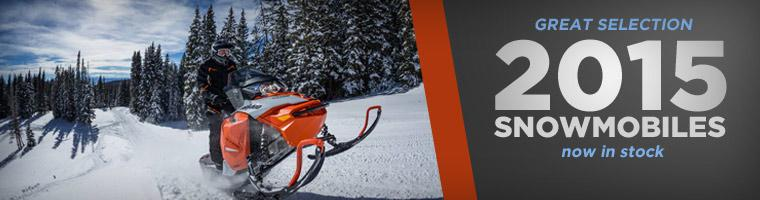 2015 Snowmobiles Now in Stock