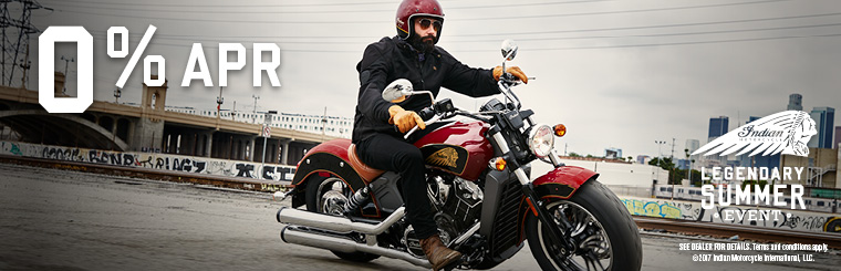 2017 September Indian Motorcycle Scout Financing Offer