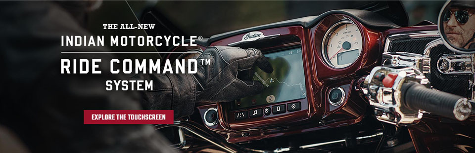 This link will direct you to more information on the all new Indian Motorcycle Ride Command System.