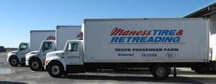 Maness Tire & Retreading Offers Fleet Delivery Service