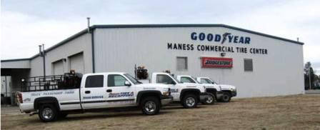 Maness Tire Offers Fleet Service