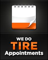 We Do Tire Appointments