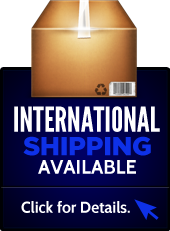 International shipping available. Click for details.