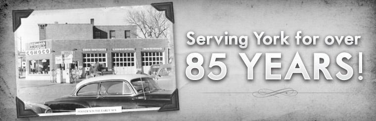 Penner's Tire & Auto Inc. has been serving York for over 85 years!
