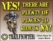 Yes! There are plenty of places to ride in NY!