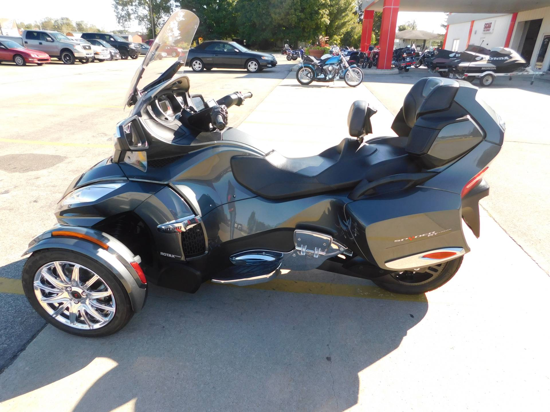 2017 Can Am Spyder Rt Limited 1