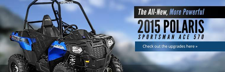 2015 Polaris Sportsman ACE 570: Click here to check out the upgrades!