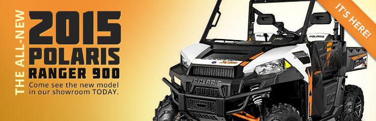 2015 Polaris Ranger 900: Come see the new model in our showroom today.