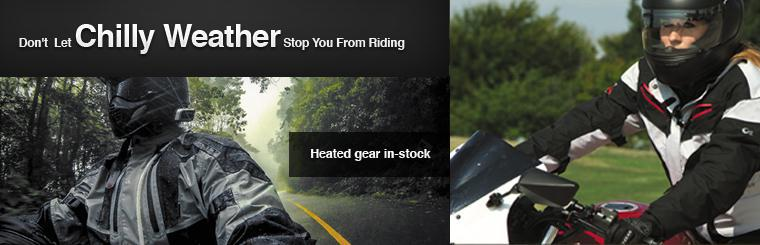 Heated gear in-stock!