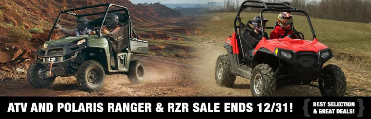 ATV and Polaris Ranger & RZR Sale