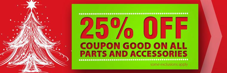 Parts & Services Coupon