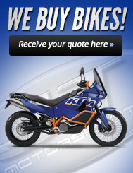 We Buy Bikes!Receive your quote here.