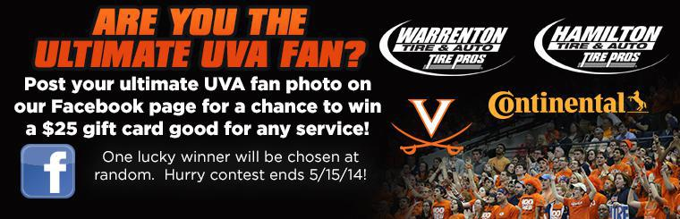 UVA Facebook Fan Promotion