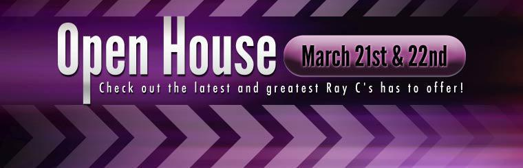 Join us for our Open House March 21st and 22nd!