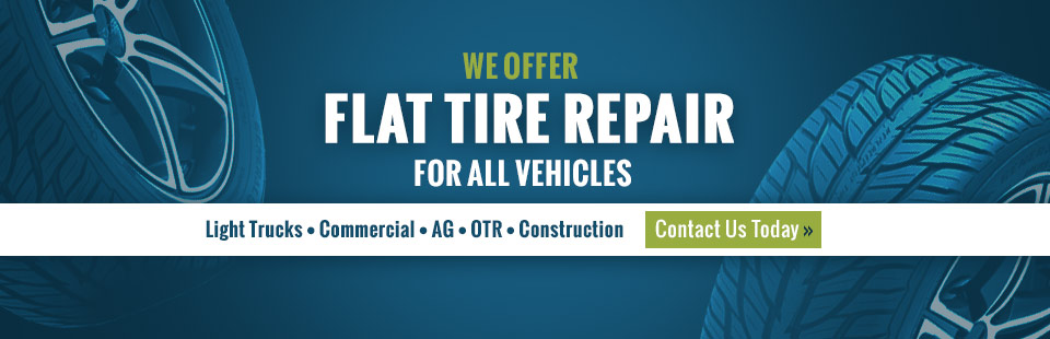 Central AG Wheel & Tire offers flat tire repair for all vehicles. Contact us for details.