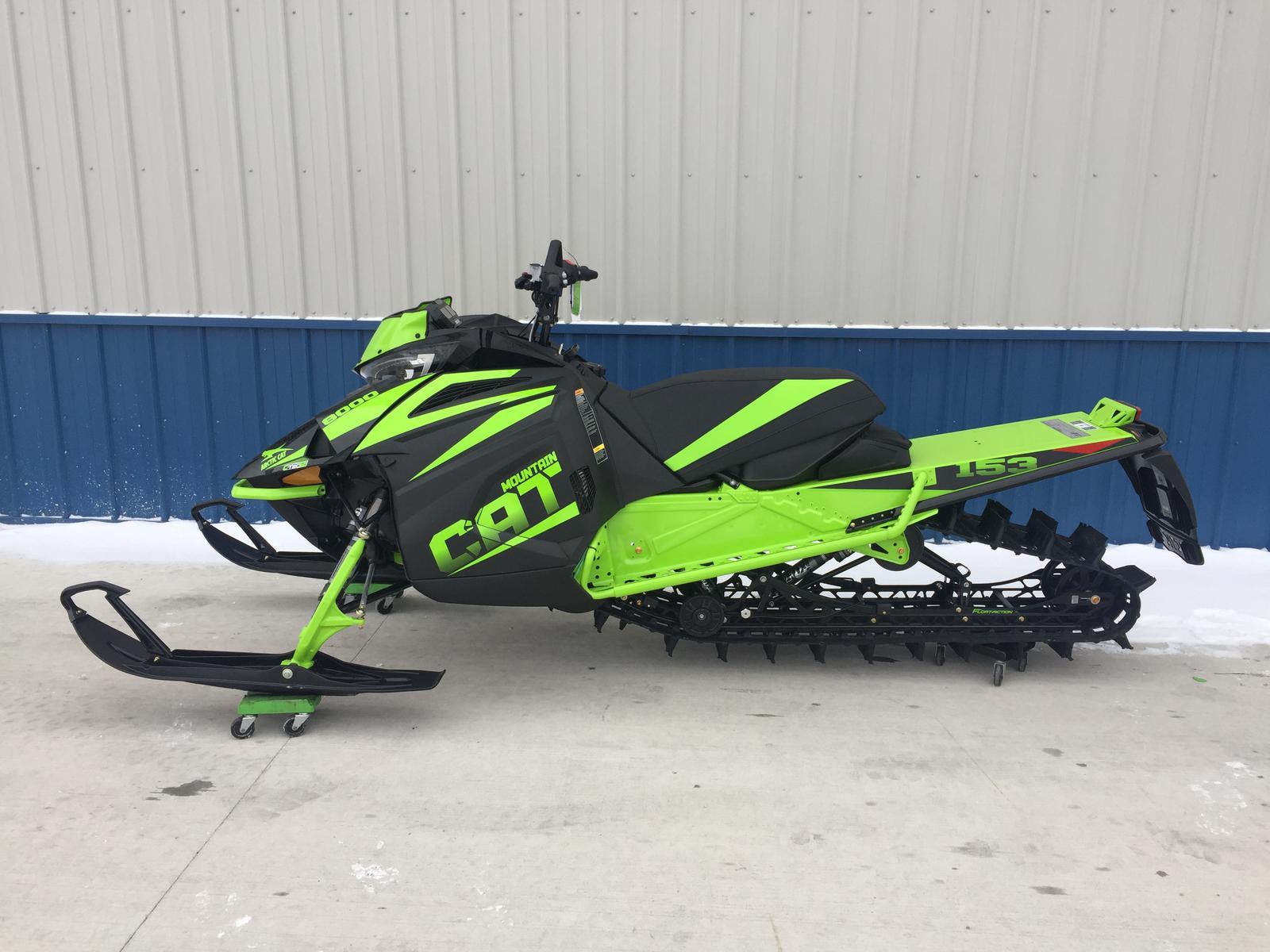 2018 Arctic Cat M 8000 Mountain Cat ES 153 for sale in Pandora OH