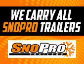 We carry all SnoPro Trailers.