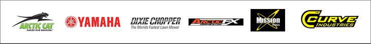 We proudly carry products from Arctic Cat, Yamaha, Dixie Chopper, ArcticFX, Mission Trailers, and Curve Industries.