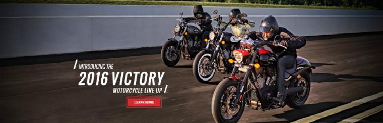 2016 Victory Motorcycle Lineup: Available Now!