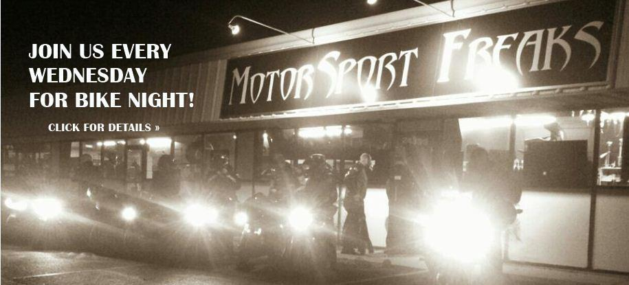 Bike night every Wednesday! Click for details.