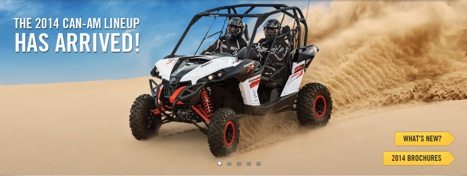 2014 Can Am Side X Sides