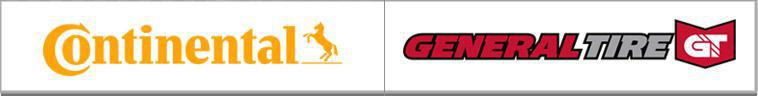 We proudly carry Continental Tire and General Tire products.