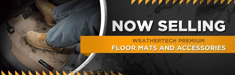 We are now selling WeatherTech premium floor mats and accessories. Click here to contact us for more information.