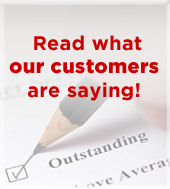 Read what our customers are saying!