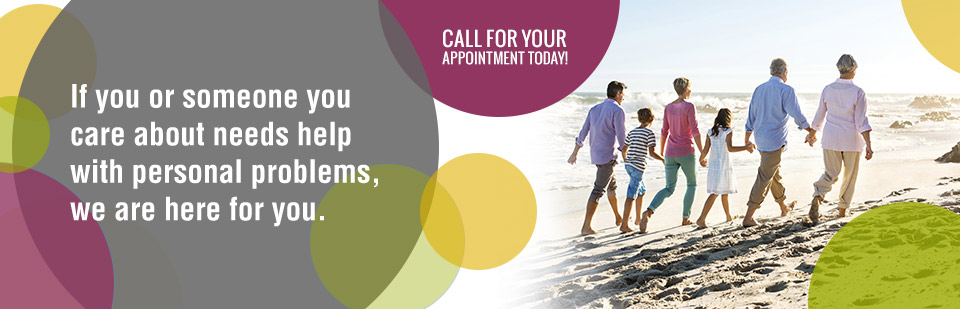 If you or someone you care about needs help with personal problems, we are here for you. Call (218) 723-8153 for your appointment today!